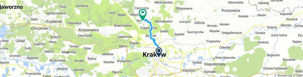 Krakow - Zamek Korzkiew