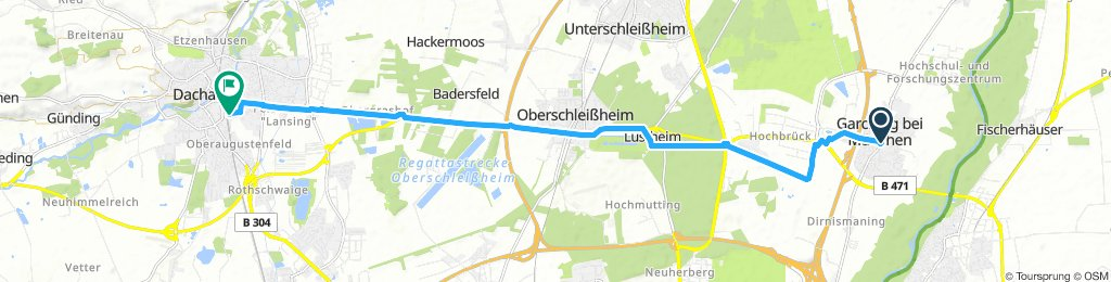 Garching - Dachau Abschnitt