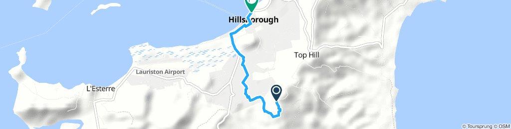 Descent Mt Royal - Hillsborough