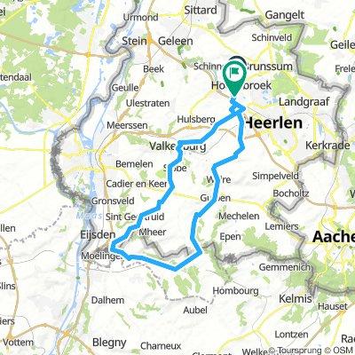 route Val Dieu (verkorte versie)