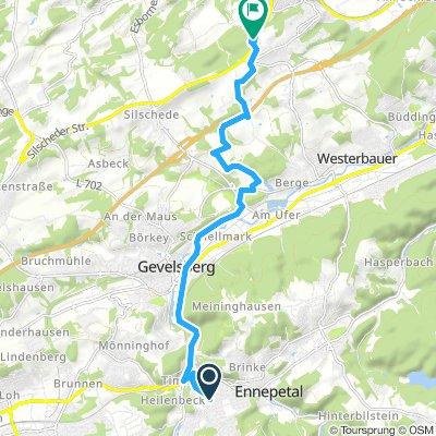 Milspe - RZV über Brockenbergstrasse
