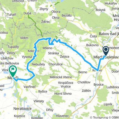 2. Etappe Mlada Boleslav - Melnik