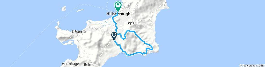 Dumfries - Sabazan - Kendeace - Mt Royal - Hillsborough