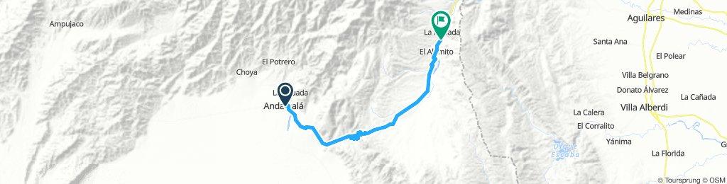 D3 - Vuelta x Aconquija/Andalgala