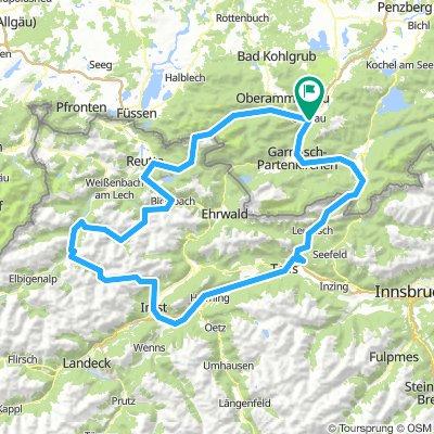 Grosse Zugspitz - Umrundung von Oberau