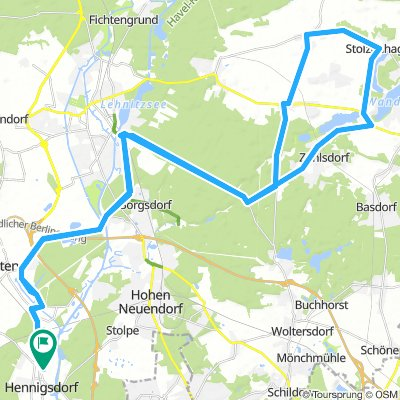 RTF Berliner Bär 70 km