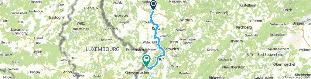 Tag 3, Kyllburg - Wasserliesch/Trier