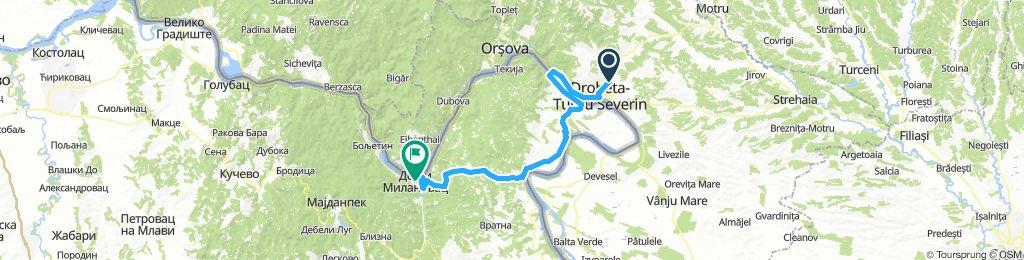 Rumunija -Donji Milanovac