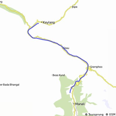 Kashmir: Manali - Leh (Etappe 1)