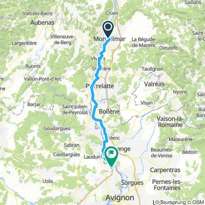 6- Montélimar - Roquemaure