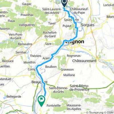 7- Roquemaure - Arles