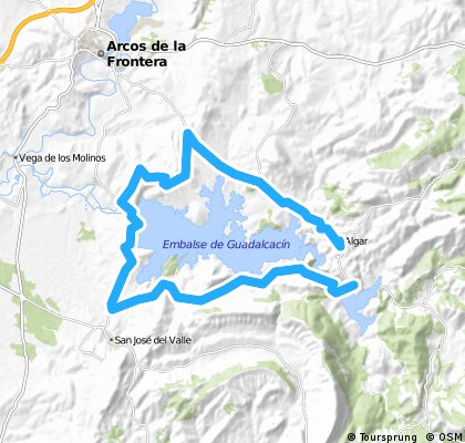 Algar- Vuelta pantano-Algar