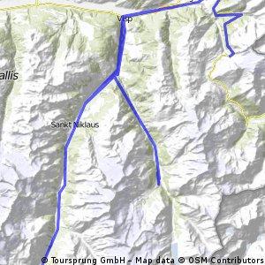 SaasFee-Zermatt-Simplonpass-SaasFee
