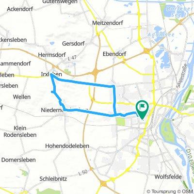 MD Stadtfeld- Gr.Wartberg- Irxleben- Magdeburg