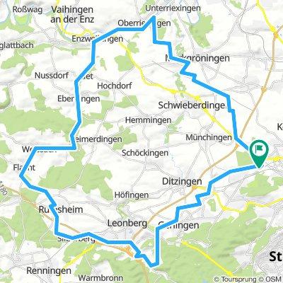 Rennradtour am 29.04.18