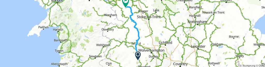 Day 4: Chelmarsh to Tarporley