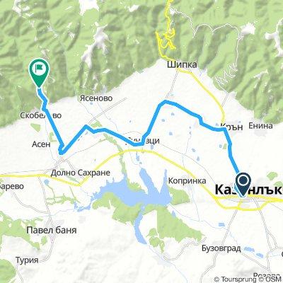 Day 4.1: Kazanlak - Kran - Shejnovo - Sahrane - Skobelevo