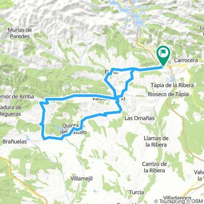 Barrios de Nistoso desde La Magdalena