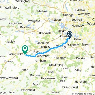 Basingstoke Canal - Weybridge to Greywell
