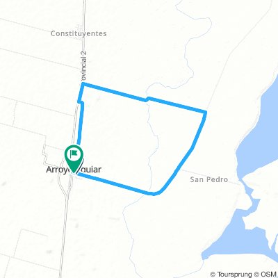 Vuelta de la Comuna Arroyo Aguiar