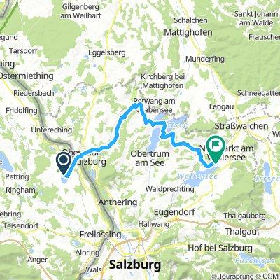 Familientour T2 über Mattsee