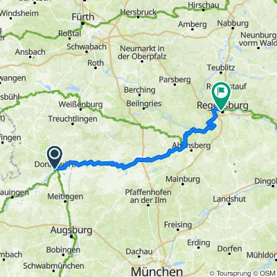 Donauwoerth - Ingolstadt - Regensburg