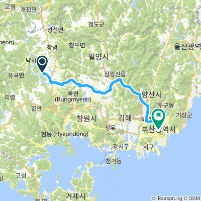 Namji-eup to Busan