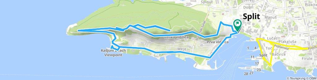 South Split Bike Tour