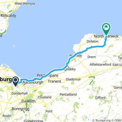 Castlebrae to Port Seton and North Berwick