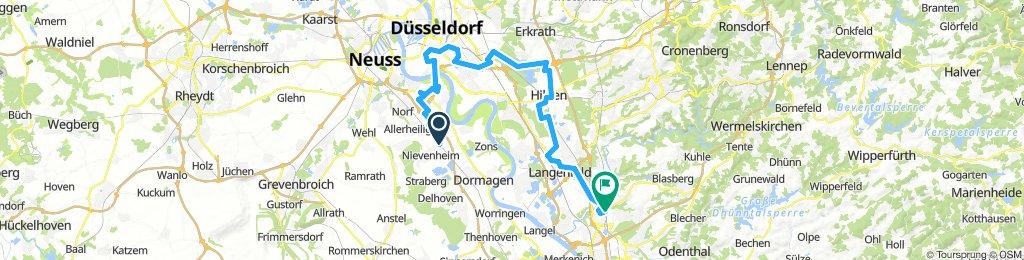 Eselsbach Radweg