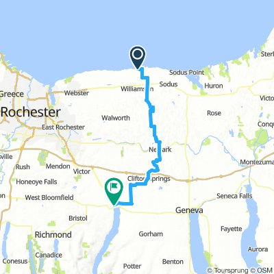 Pultneyville to Canandaigua