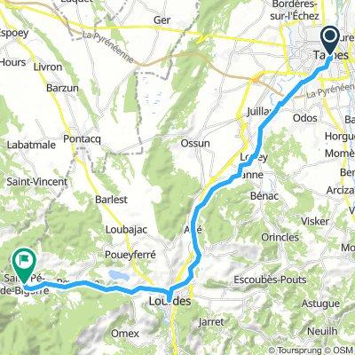 17. Tarbes nach Bigorre