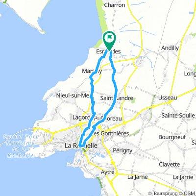 Esnandes-La Rochelle