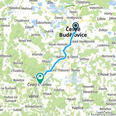 2. Ceske budejovice - cesky krumlov