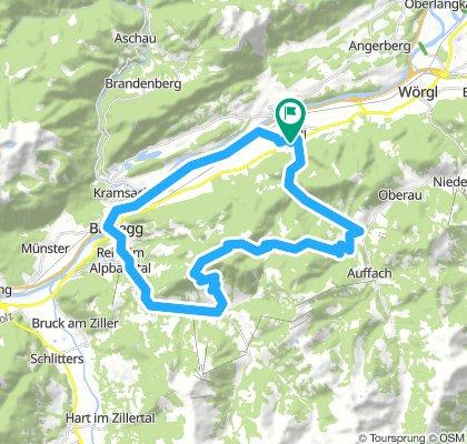 Kundl Alpbach Runde