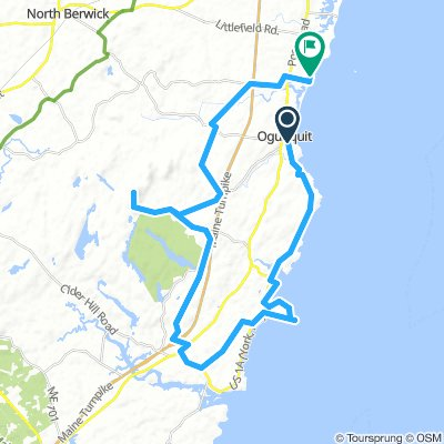 Cycling Routes And Bike Maps In And Around Ogunquit Bikemap Your