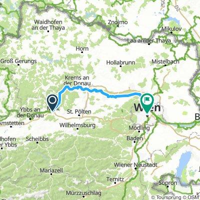 3. Melk to Vienna, Austria