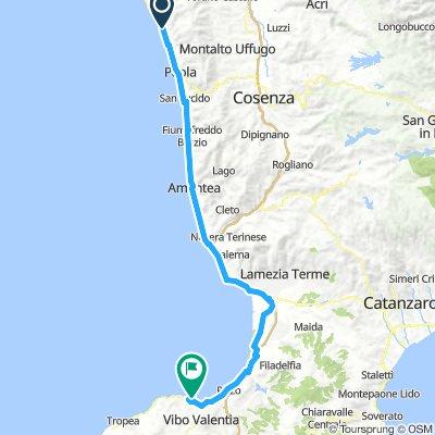 13 Paola (CS) - ViboValentia (VV) km 111
