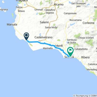 05 Mazara del Vallo to Sciacca