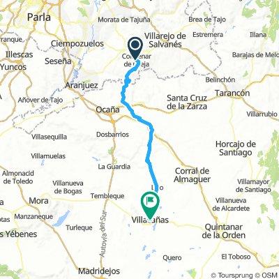 Colmenar de Oreja_Villacañas 73km