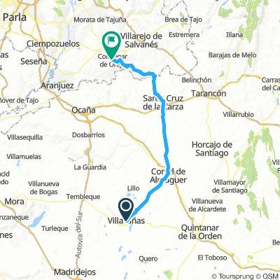 Villacañas_Colmenar de Oreja 78km