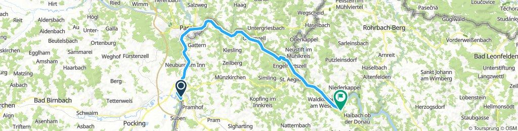 Donautour Tag 1