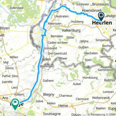Maastal  (Radtour im die Nachbarländer BL. NL.)