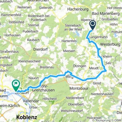 Westerwald Radtour