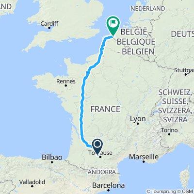 France A euro tour