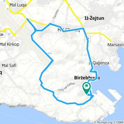 Round Route Home to Home Birzebbugi