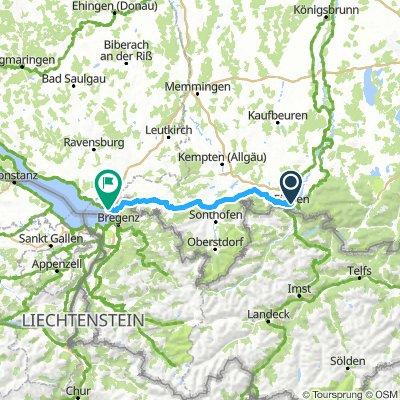 11. Füssen im Allgäu - Lindau am Bodensee
