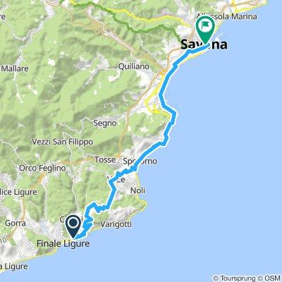 Finale Ligure-Savona (con Manie)