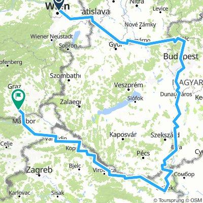 dc - osijek - maribor - leibnitz