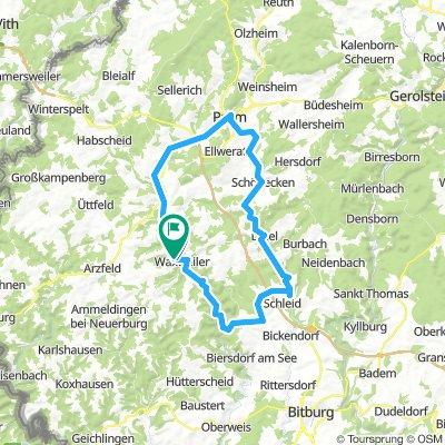 Trial route Waxweiler